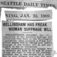 Page 087 : Bellingham Has Freak Woman Suffrage Bill