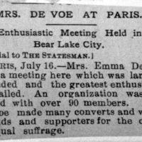 Page 085 : Mrs. DeVoe at Paris