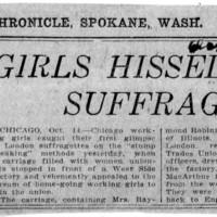 Page 042 : Girls Hissed Suffragettes