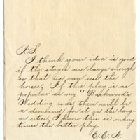 Letter from Eva Nelson to Emma Smith DeVoe, 7/7/1910, page 3