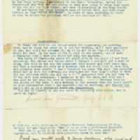 Letter from Edith Jarmuth to Emma Smith DeVoe, 7/26/1908, page 3