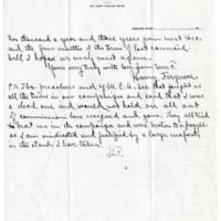 Letter from Harry Ferguson to Emma Smith DeVoe, 8/19/1911, page 2