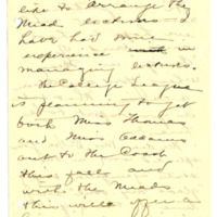 Letter from Adella Parker to Emma Smith DeVoe, 4/13/1908, page 3