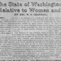 Page 002 : Laws of the State of Washington Relative to Women and Children (Ninth Instalment)