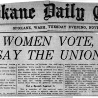 Page 060 : Let Women Vote, Say the Unions