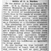 Page 164 : The Forum: Women Should Have Votes