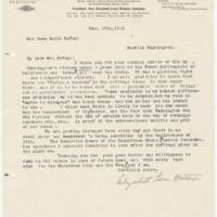 Letter from Elizabeth Watson to Emma Smith DeVoe, 12/15/1910, page 1