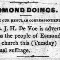Page 42 : Esmond Doings