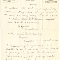 Letter from Augusta Kegley to Emma Smith DeVoe, 9/21/1909, page 2
