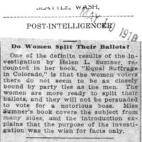 Page 133 : Do Women Split Their Ballots