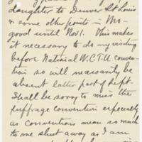 Letter from Freida Davidson to Emma Smith DeVoe, 7/31/1908, page 3