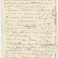 Letter from S.K. to Emma Smith DeVoe,[ 2/?/1909], page 4
