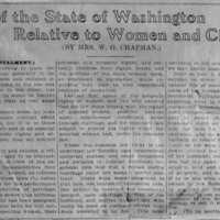 Page 001 : Laws of the State of Washington Relative to Women and Children (First Instalment)