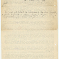 Letter from Edith Jarmuth to Emma Smith DeVoe, 7/26/1908, page 2