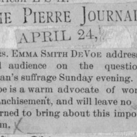 Page 30 : [news clipping: Emma Smith DeVoe 'leaves no stone unturned']