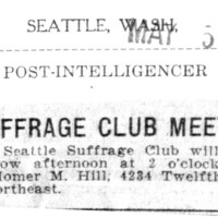 Page 122 : Suffrage Club Meets