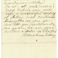 Letter from Wilder Nutting to Emma Smith DeVoe, 7/12/1895, page 6