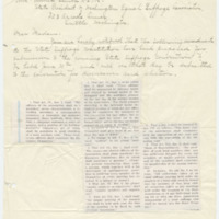 Letter from Edith Jarmuth to Emma Smith DeVoe, 6/8/1909, page 1