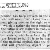 Page 084 : [Suffragettes Petition Congress for Constitutional Amendment]