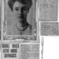 Page 164 : Trouble Maker Active Among Suffragists