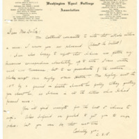 Letter from Cora Smith Eaton to Emma Smith DeVoe, page 1