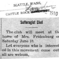 Page 161 : Suffragist Club