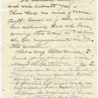 Letter from S.K. to Emma Smith DeVoe, 11/14/1912, page 1