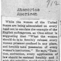 Page 170 : [news clipping: Ohio Women should Rebel]