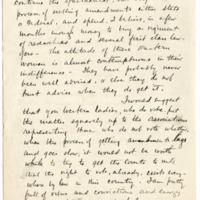 Letter from Henry Opdyke to Emma Smith DeVoe, 7/25/1913, page 3