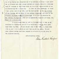 Letter from Ida Harper to Cora Smith King, 12/18/1919, page 2