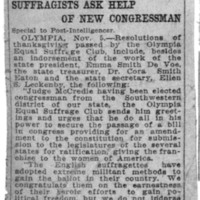 Page 052 : Suffragists Ask Help of New Congressman