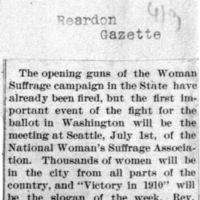 Page 003 : [news reprint: Women in Seattle for Convention] (part 1)
