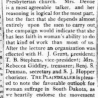 Page 35 : Woman Suffrage