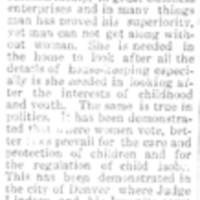 Page 151 : Suffragant Speaks