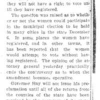 Page 038 : Suffrage Proclamation Is Held Necessary
