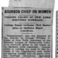 Page 147 : Bourbon Chief on Women
