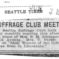 Page 159 : Suffrage Club Meets