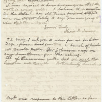 Letter from Luci Isaacs to Emma Smith DeVoe, 8/21/1910, page 3