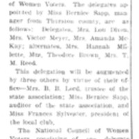 Page 045 : Local Suffragists Choos Delegates To Big Tacoma Meet
