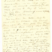 Letter from Adella Parker to May Arkwright Hutton, 12/11/1908, page 3