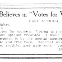 "Page 030 : Fra"" Believes in ""Votes for Women"""""