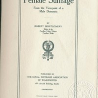 Page 236 : Female Suffrage : from the viewpoint of a male democracy (Page 2)