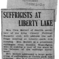 Page 130 : Suffragists at Liberty Lake
