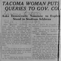 Page 006 : Tacoma Woman Puts Queries To Gov. Cox