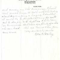Letter from Etta Dailey to Emma Smith DeVoe, 8/28/1911, page 2