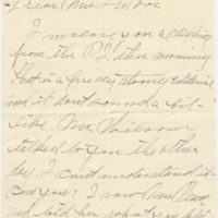 Letter from Anna Goodwin to Emma Smith DeVoe, 12/26/1910, page 1
