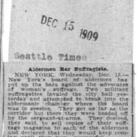 Page 091 : Aldermen Bar Suffragettes