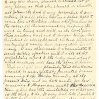 Letter from Harry Ferguson to Ellen Leckenby, 4/14/1909, page 2