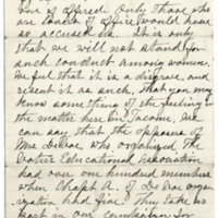 Letter from Abbie Danforth to C. Flint, 4/29/1911, page 3