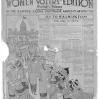 Page 070 : Chicago Examiner : Women Voter's Edition (Page 1)